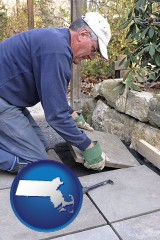 massachusetts a patio builder